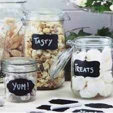 multi size wedding home kitchen jars blackboard stickers