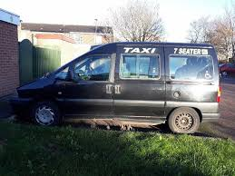 peugeot taxi peugeot expert heackney taxi disable rack 8 seater in sinfin