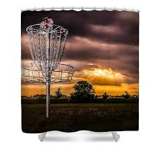 Golf Curtains Disc Golf Shower Curtains Fine Art America