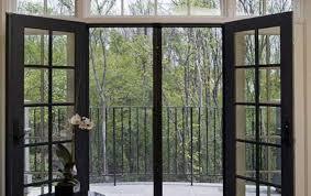 Custom Size Exterior Doors Patio Wood Doors Exterior Center Hinged Patio Doors Slide