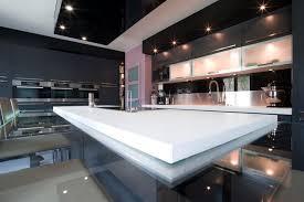 cuisines italiennes design grande cuisine design italien finition anthracite par severine avec