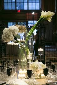 White Flower Arrangements Reception Décor Photos Contemporary White Flower Arrangements