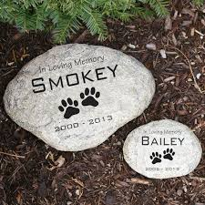 engraved memorial stones pet remembrance garden stones engraved pet memorial garden