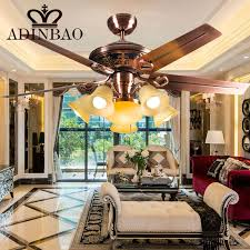 high quality ceiling fans high quality ceiling fan light wih red antique copper color xj041 in