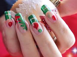unique u0026 chic nail art sticker for christmas beauty life