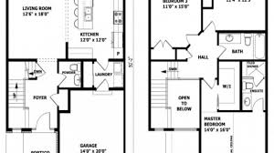 Floor Plan For Two Story House Charming Contemporary House Plans 2 Story Images Best