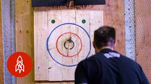 ax meet target throwing blades for sport youtube