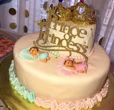 gender reveal cake topper prince or princess cake topper baby sprinkle cake topper baby