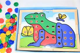 doug melissa u0026 doug sort and snap color match toy puzzle review