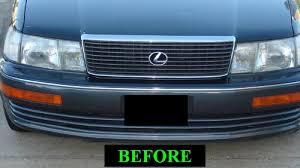 1997 lexus ls400 amazon com 1990 2001 lexus ls400 chrome grill grille kit 1991