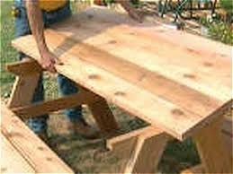 Diy Wood Picnic Table by 65 Best Picnic Tables To Build Images On Pinterest Diy Outdoor