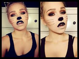 halloween cat make up tutorial vanessa herold youtube