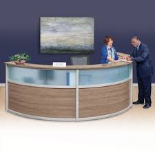 Padded Reception Desk Office Reception Furniture Contemporary Waiting Room And Lounge