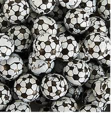 rm palmer chocolate soccer balls 5 lb bulk 455 ct