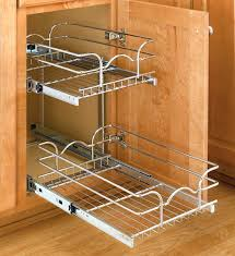 lynk chrome pull out cabinet drawers amazing lynk roll out cabinet drawers design cutting board and tray