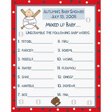 baby shower printable games and answers ebb onlinecom