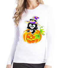Compare Prices On Cat Halloween Shirt Online Shopping Buy Low