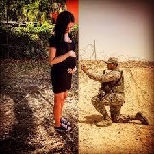 Istri Takut Hamil Potret Kehamilan Ini Gambarkan Jadi Istri Tentara Itu Harus Kuat