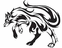 meaningful cool tribal designs to draw cool tribal fox designs to