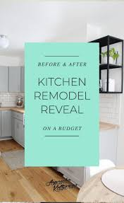 kitchen makeover with cabinets small kitchen remodel before and after amanda katherine