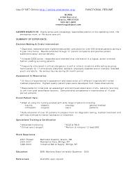 100 barista sample resume resume objective examples barista