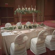 rosette chair covers i do events chair covers tablecloths wedding table linens and