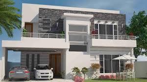 front elevation for house 1 kanal house design gharplans pk