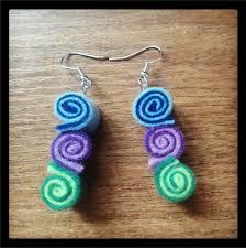 felt earrings felt earrings by aisling corcra on deviantart