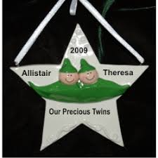 two peas in a pod christmas ornament two peas in a pod personalized christmas ornaments