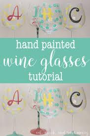 25 Unique Dot Painting Ideas by 25 Unique Hand Painted Wine Glasses Ideas On Pinterest Painting