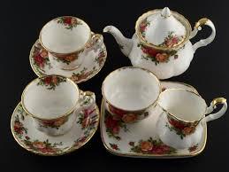 roses tea set royal albert tea set bone china country roses