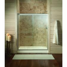 Fluence Shower Door Kohler Fluence 59 5 8 In X 70 5 16 In Semi Framed Sliding Shower