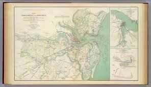 Charleston Sc Map Charleston Defenses David Rumsey Historical Map Collection
