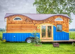 Tiny Houses Pictures by Amazing Wood Pequod Caravan Comfortably Fits A Family Of Four