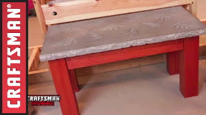 how to make a concrete coffee table w duane johnson youtube