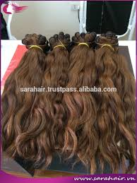 Double Weft Hair Extensions by Wholesale Raw Virgin Hair From Vietnam Double Drawn Wavy Hair