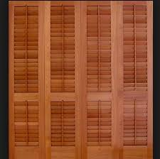 Louvered Doors Interior Interior Reliabilt 24 W Louvered Solid Wood Interior Bifold