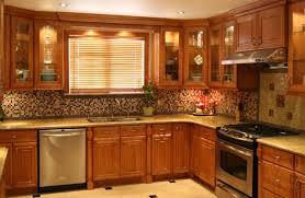 furniture kitchen cupboards design in kitchen with red cupboards