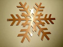 copper projects snow flake on brushed copper sheet projects inventables