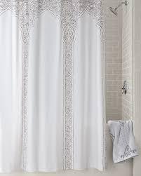Neutral Shower Curtains Robshaw Claridge Shower Curtain
