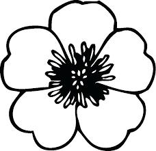 printable large flowers flower printable easy large flower stencils printable kishfanclub info