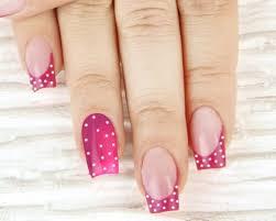 22 cute polka dot nail art design ideas
