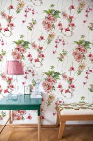 20 Best Removable Wallpapers Peel by Vintage Floral Wallpaper Vintage Nursery Decor Flower