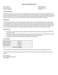 Interior Design Consultant Hourly Rate 32 Sample Proposal Templates In Microsoft Word