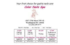 color nails salon u0026 spa