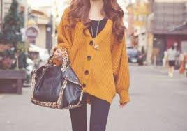 baggy sweaters cardigan orange oversized cardigan clothes