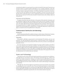 debriefing report template chapter 3 procurement process procuring and managing page 34