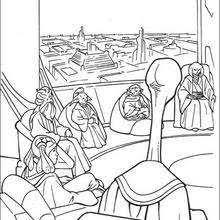 spaceships war coloring pages hellokids