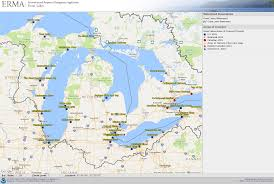 The Great Lakes Map Great Lakes Erma Response Restoration Noaa Gov