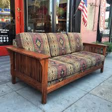 on a mission classic mission style sofa u2014 casa victoria vintage